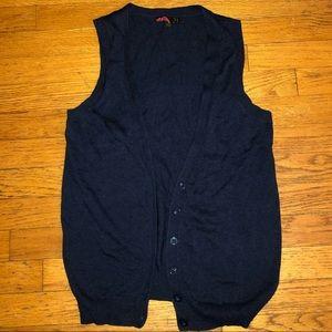 NWOT Forever 21 Navy Sleeveless Vest